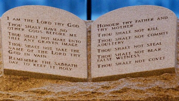 Original Ten Commandments