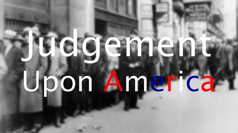 Judgement Upon America