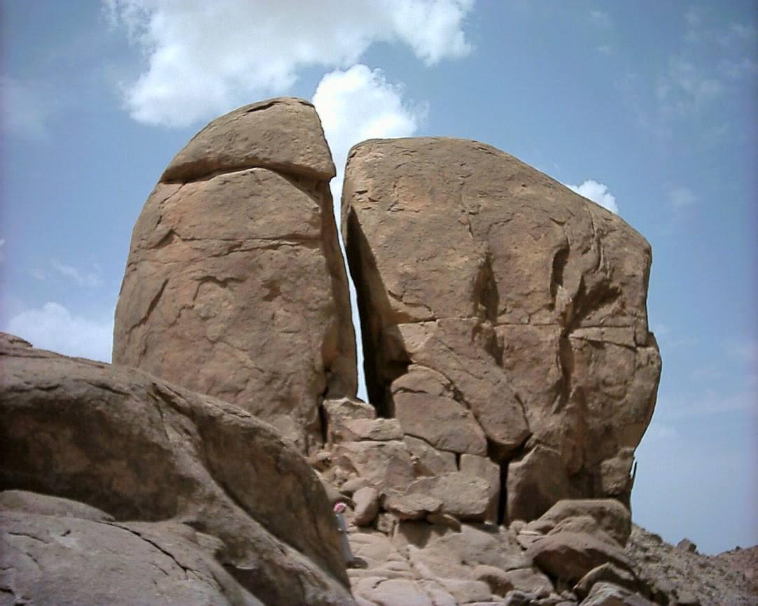 Discovering Mount Sinai in Saudi Arabia the Ten Commandments