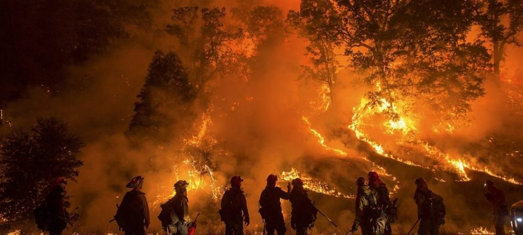 California Wildfires Claim Lives of 40