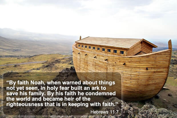 Audio Sermon on Noah's Faith and Obedience