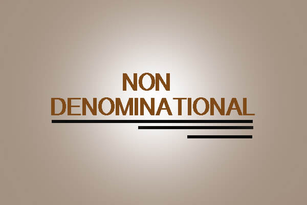 Non Denominational